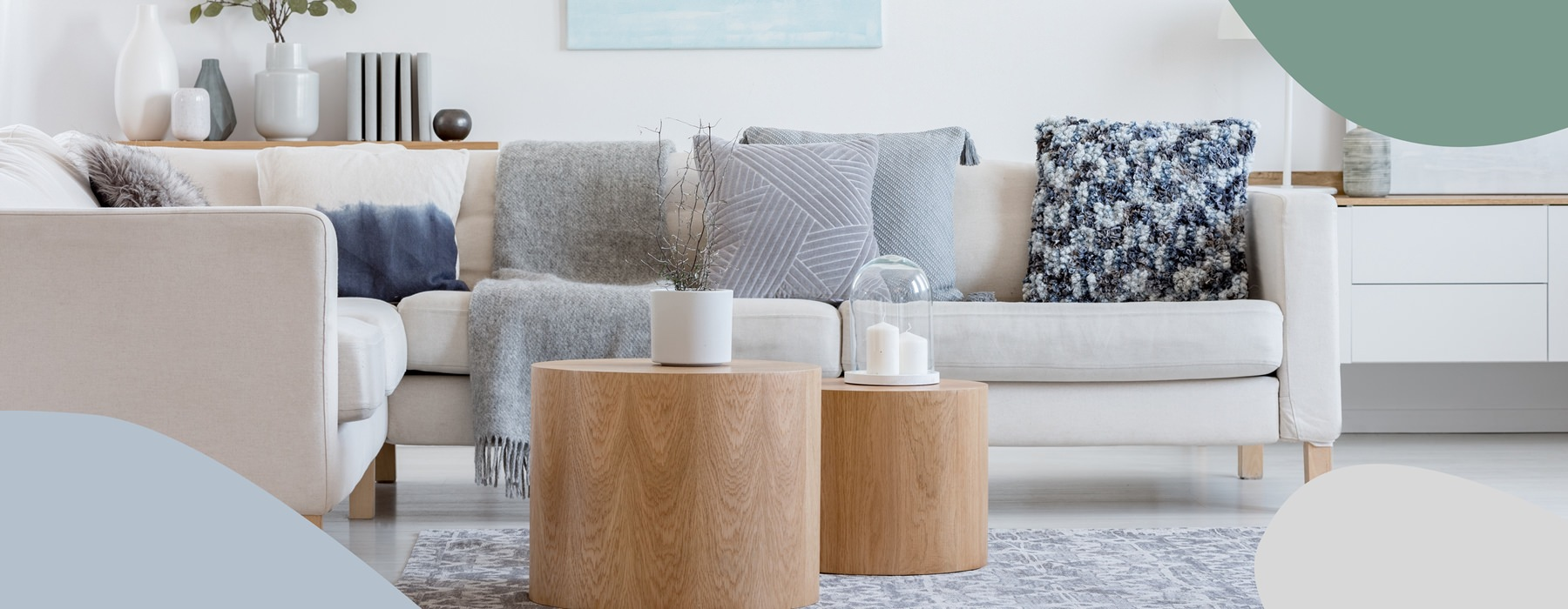 furnished living room, lifestyle image